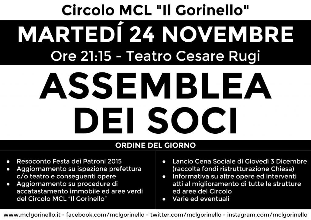 Assemblea dei soci - novembre 2015 - stampa