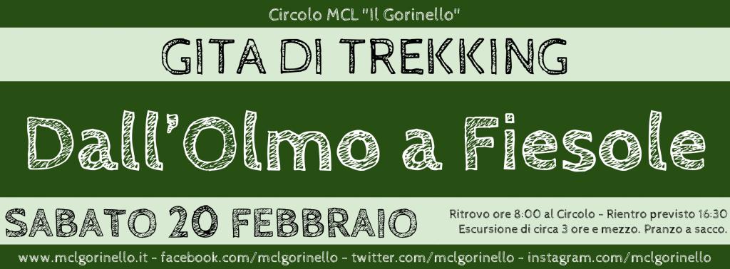 Trekking - Dall'Olmo a Fiesole - FB